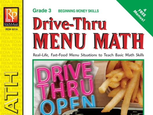 Beginning Money Skills: Drive-Thru Menu Math
