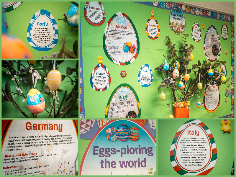 Easter Egg Classroom Display | Culture, Arts and Crafts
