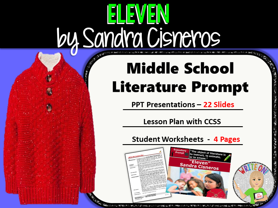 eleven by sandra cisneros text dependent analysis expository eleven by sandra cisneros text dependent analysis expository writing prompt by morgenstern93 teaching resources tes