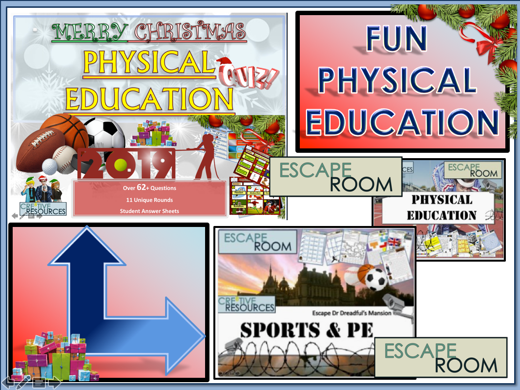 Physical Education JUMBO Bundle - PE Christmas