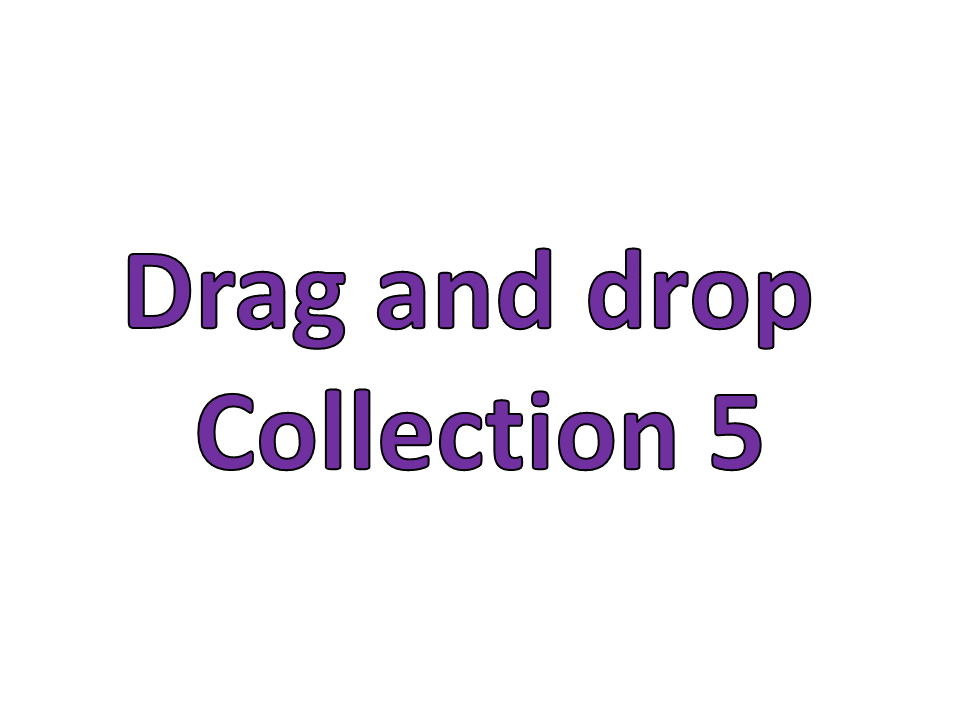 Drag and drop collection 5