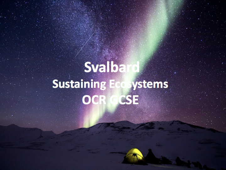 Sustaining Ecosystems - Svalbard