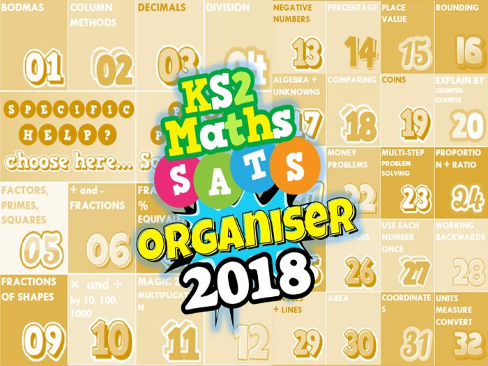 Image result for NEW! 2018 KS2 SATs Revision Ultimate 3-in-1 Maths Organiser