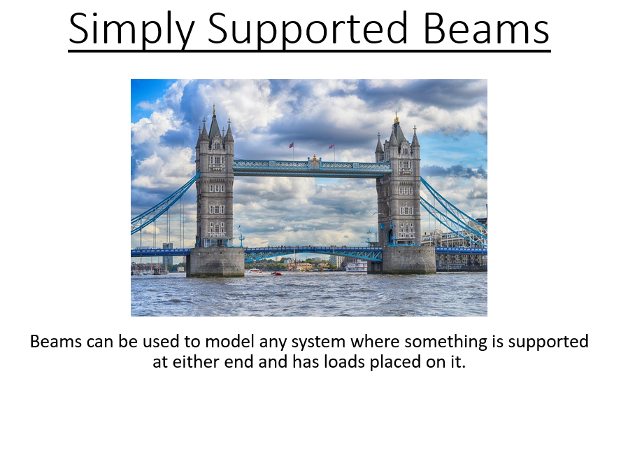 BTec National - Engineering - Simply supported Beams (PowerPoint)