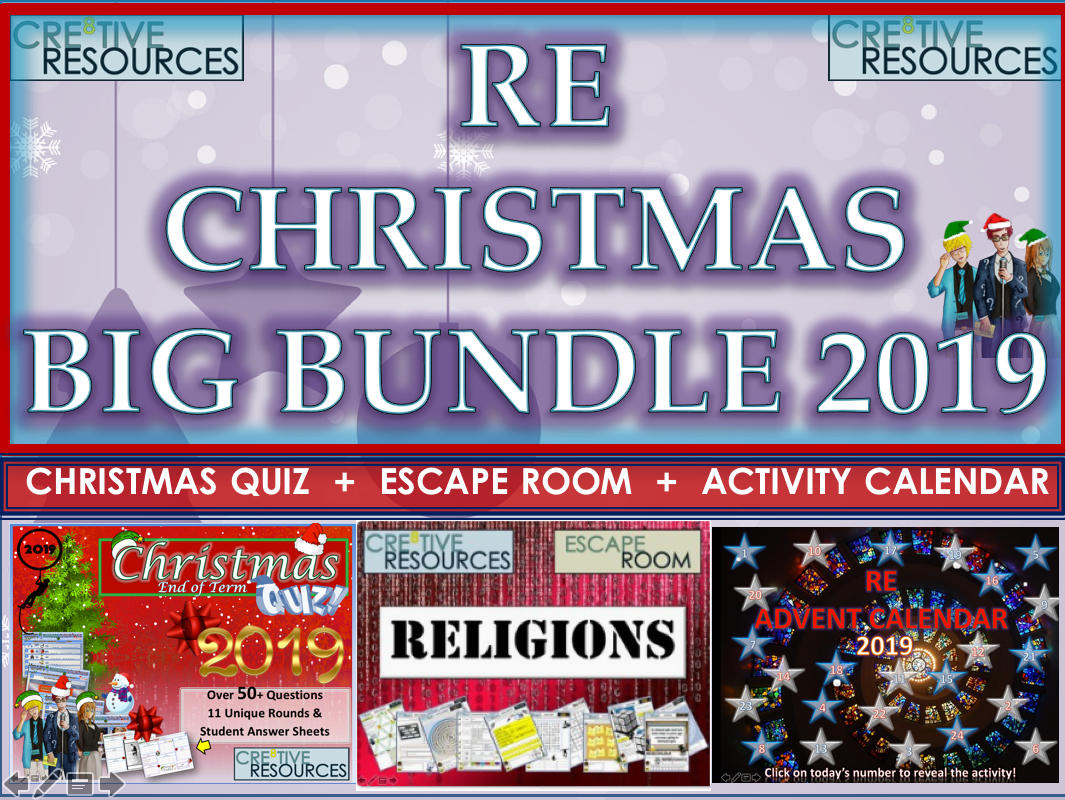 RE RS Christmas BIG Bundle