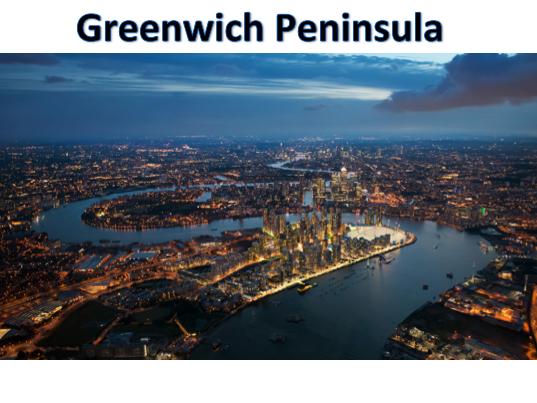 KS3 Settlements - Greenwich Peninsula