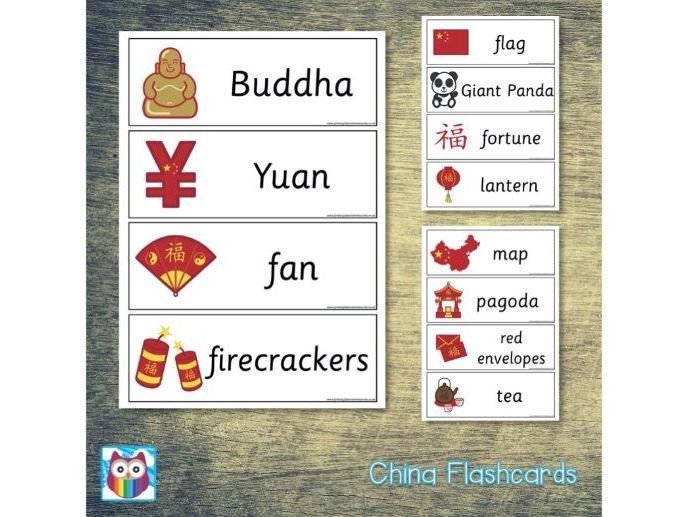 China Flashcards