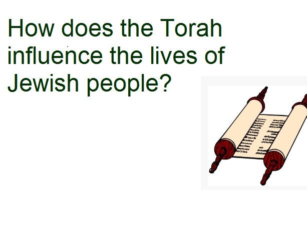 Year 4 - RE Planning - How does the Torah influence the lives of Jewish people?