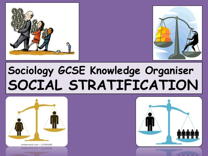 Social Stratification Knowledge Organiser Sociology GCSE