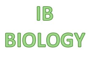 IB Biology - Photosynthesis