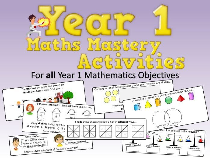 Maths Mastery Activities – Year 1
