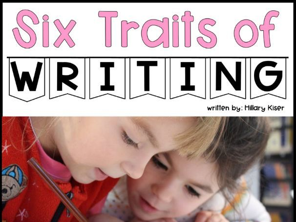 Six Traits of Writing Resource Series