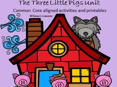The Three Little Pigs (Common Core aligned/Key stage 1) (Pack 2)