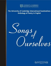 CIE IGCSE Songs of Ourselves, Volume 1, Part 5