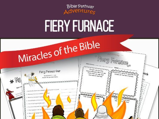 Bible Miracles: Fiery Furnace