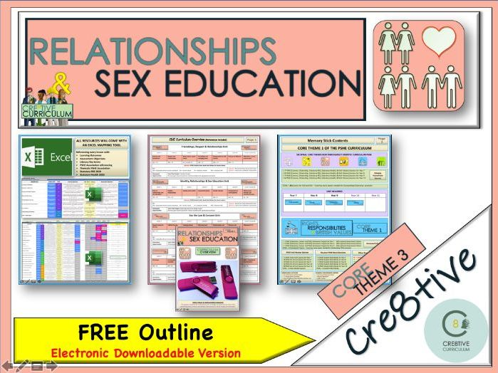 PSHE Pink - RSE Planning Document