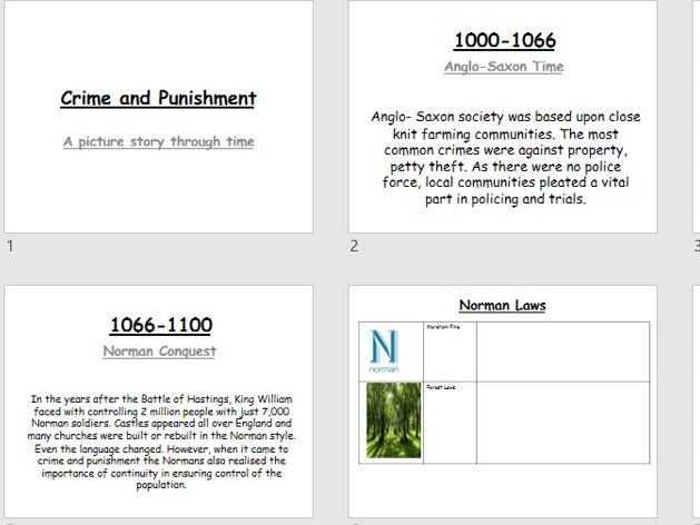 Crime and Punishment and Whitechapel workbook/revision guide (9-1 Edexcel)