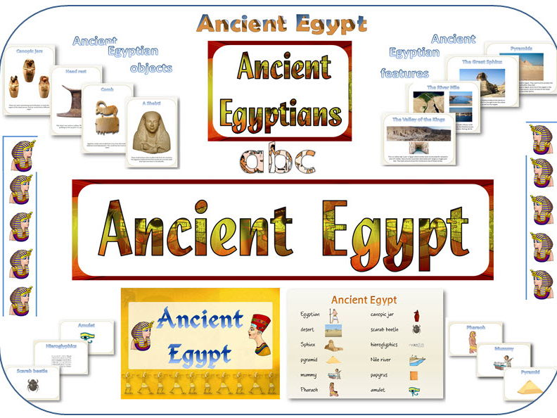 Ancient Egypt display resources