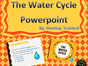 The Water Cycle Powerpoint Presentation