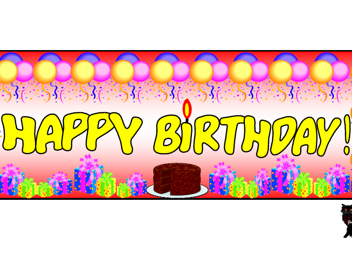 'Happy Birthday' Themed Pack