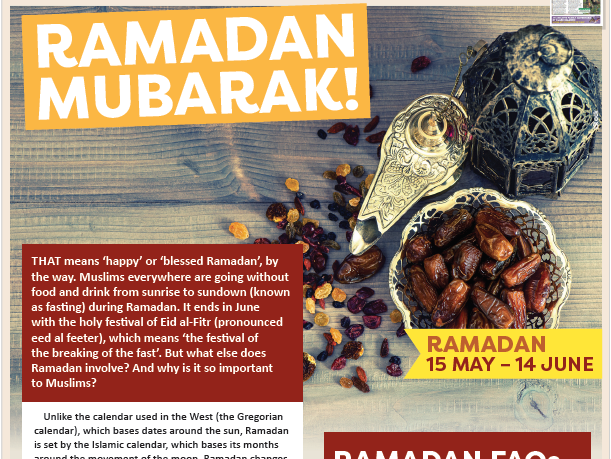 Ramadan Full Lesson KS2/3 Activity Sheet
