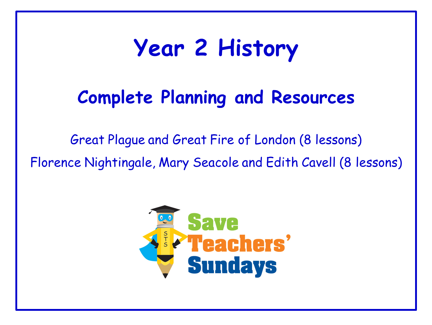 Year 2 History Planning and Resources
