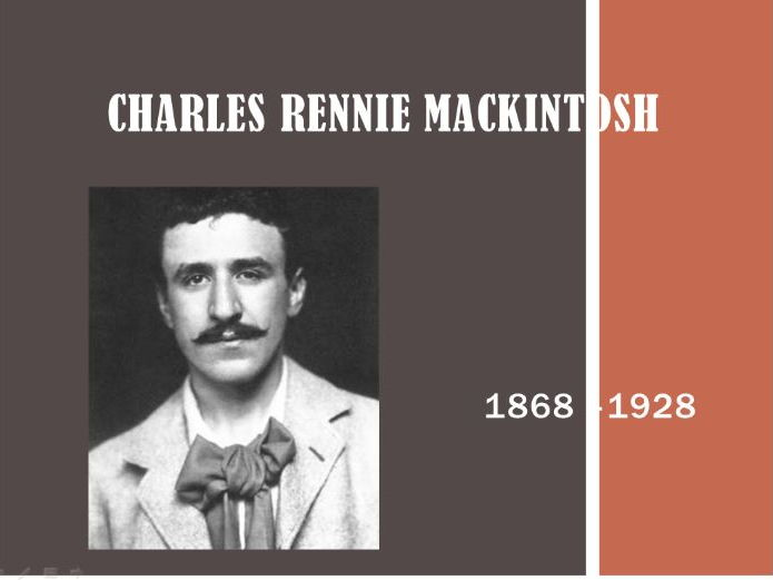 KS2 powerpoint lesson Charles Rennie Mackintosh