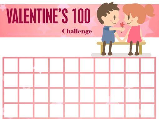 Suzuki Violin Practice Chart Valentine's Day