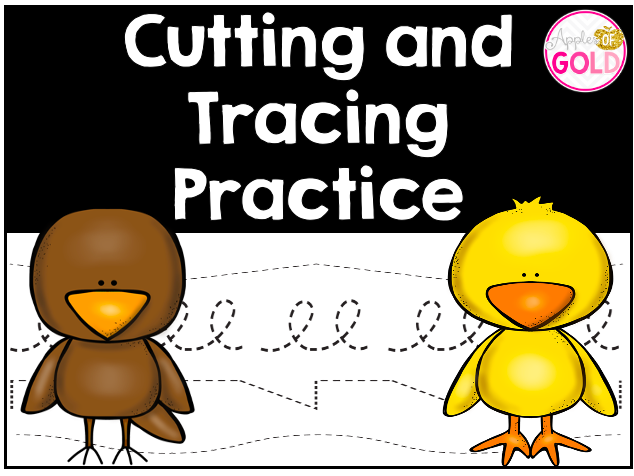 Tracing and Cutting Practice