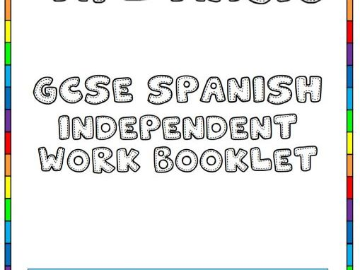 GCSE Spanish Family and relationships booklet