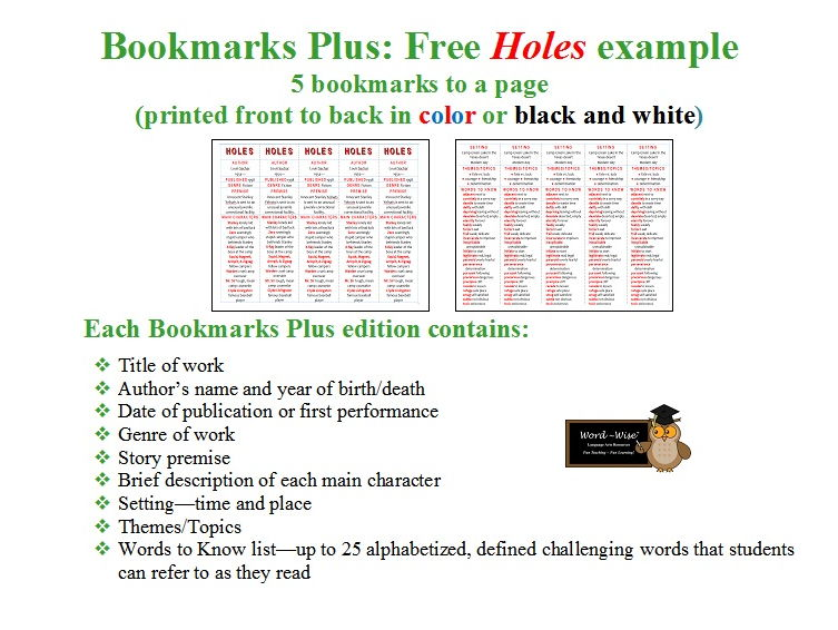 The Secret Garden edition of Bookmarks Plus: Fun Freebie and a Handy Little Reading Aid!