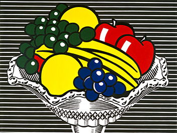 Year 1 Planning/Evaluation - Art and Design - Roy Lichtenstein's still life artworks.