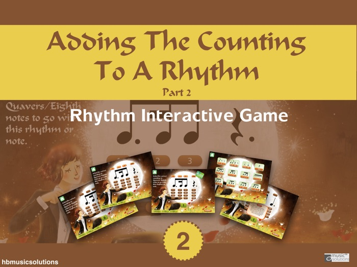 Adding The Counting To A Rhythm In Music Part 2 Music Interactive Activity