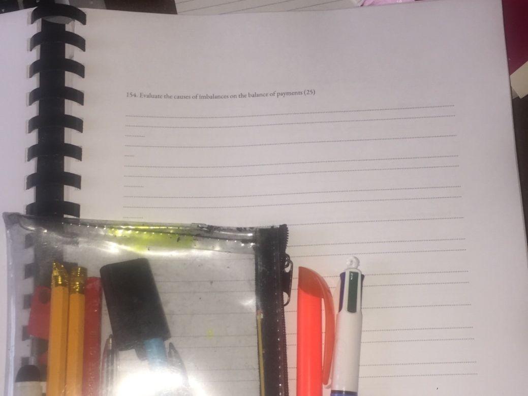 Complete economics past paper booklet