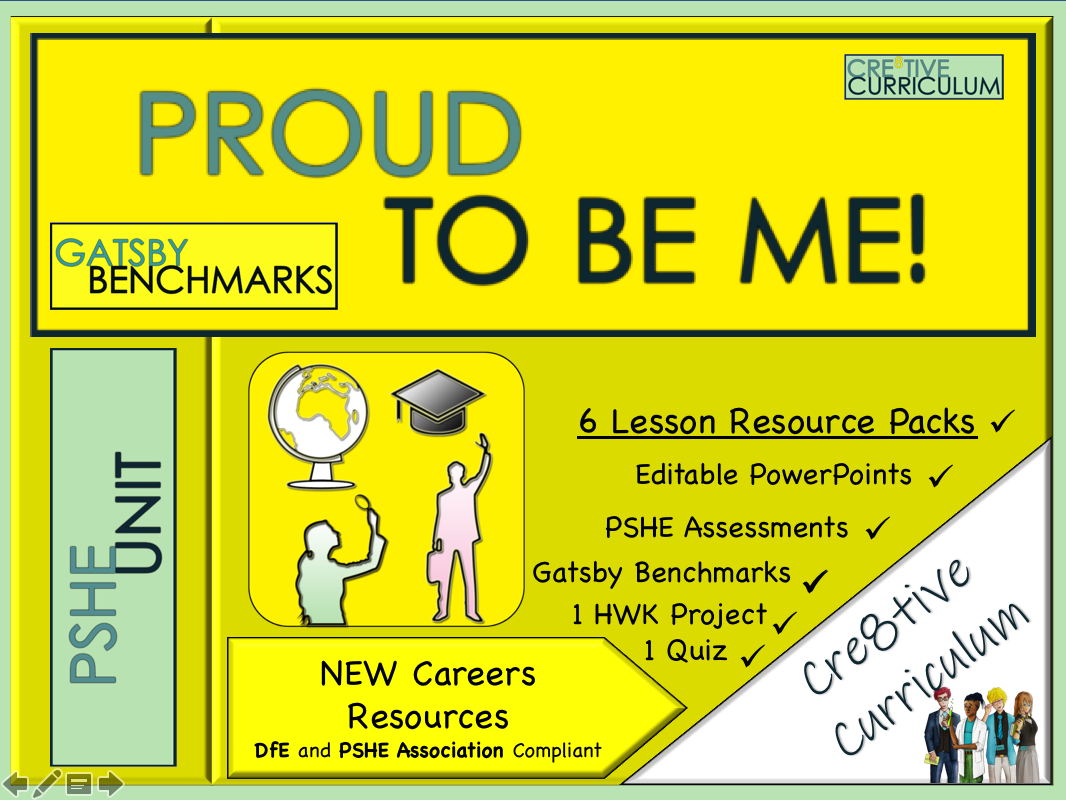 Proud to be Me PSHE and Careers Unit