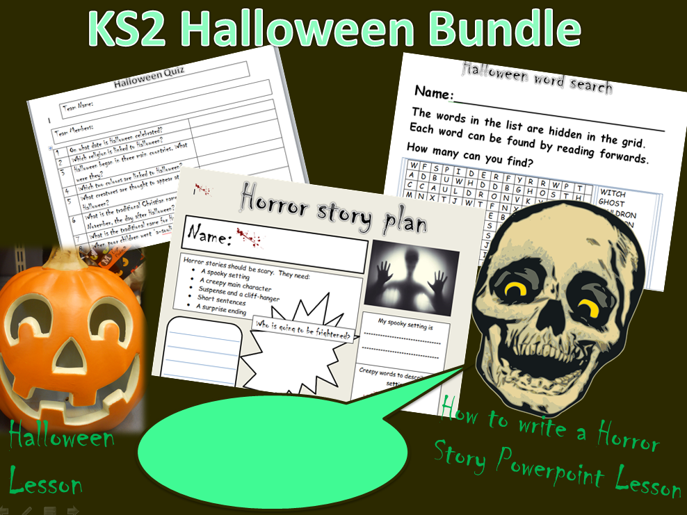 KS2 Halloween Bundle