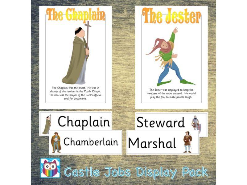 Castle Jobs Display Pack