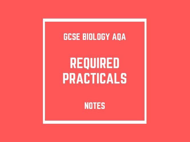 GCSE Biology AQA: Required Practicals