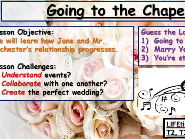 Wedding Planning for Jane Eyre and Mr. Rochester