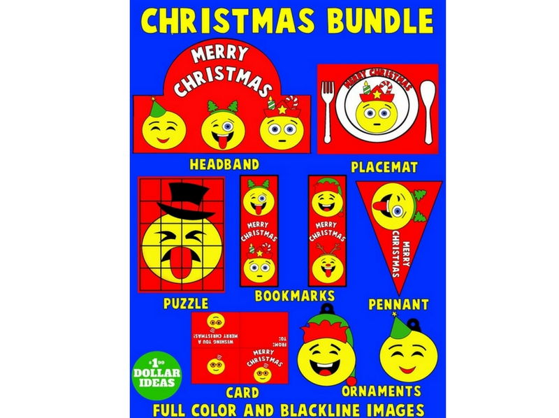 CHRISTMAS BUNDLE | CHRISTMAS CRAFTS FOR KIDS