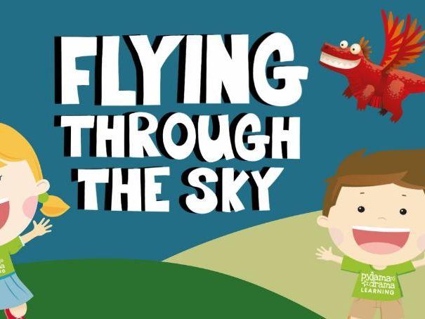 Music video for preschool children - 'Flying Through the Sky'