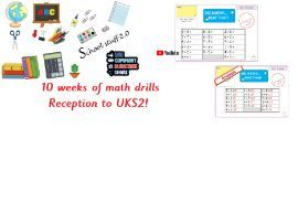Big math learn its photocopiable R to Y6