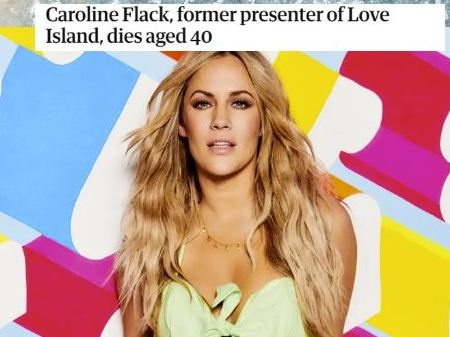 Press Regulation- Caroline Flack