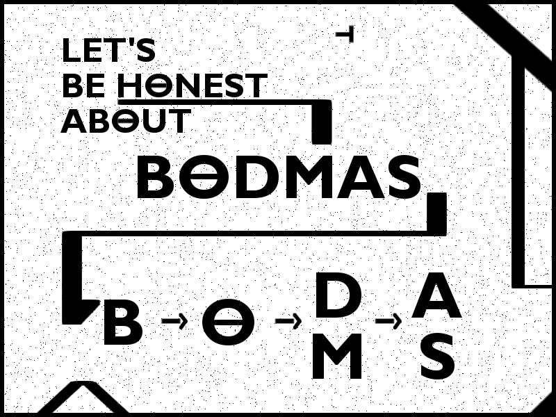 Order of Operations Sticker / BODMAS What goes first?