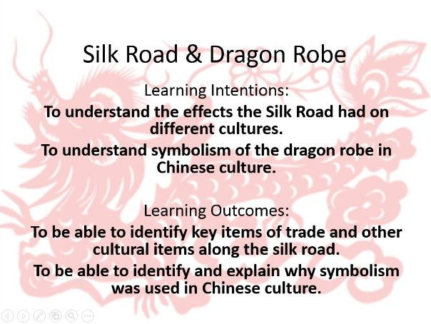 KS3- Silk road