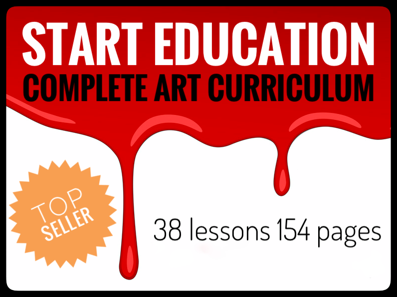 Art. Complete Middle School Art Curriculum