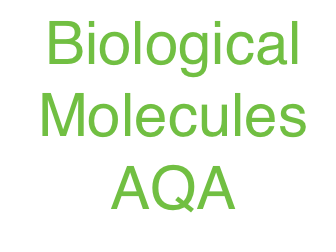 AQA 3.1 Biological Molecules - AS - Full Topic Revision  - KEYNOTE