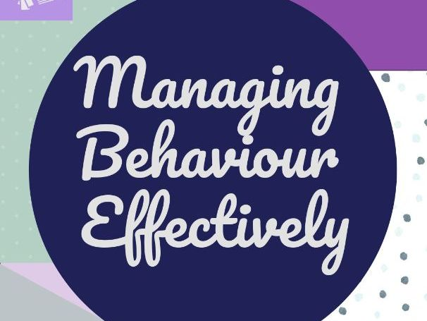 TS7 Managing Behaviour Effectively CPD Resource