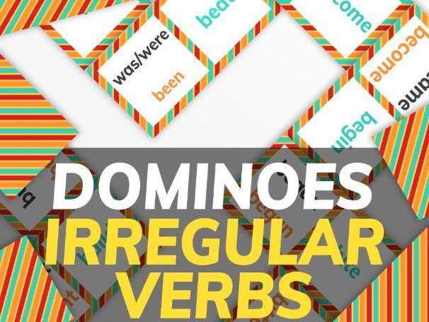 Irregular Verbs Dominoes