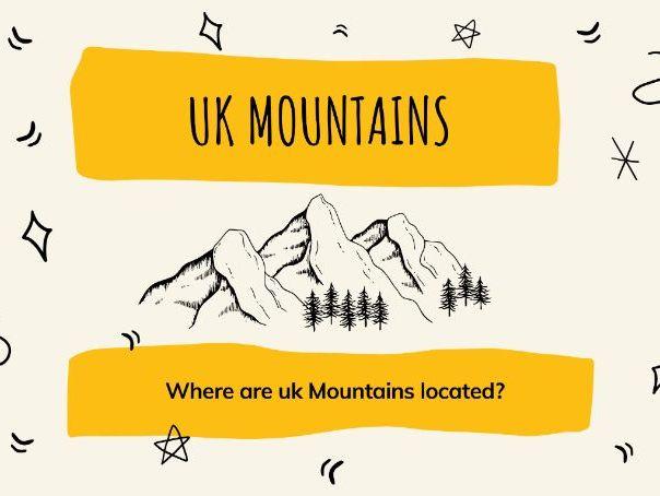 UK Mountain Ranges